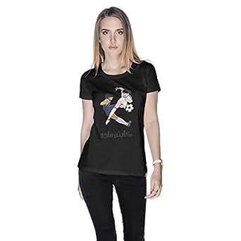 Creo Captain Majid T-Shirt For Women - Xl, Black