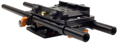 Jag35 KBPFS700 Camera Baseplate FS-700 - No Quick Release Plate (Black) by Jag35