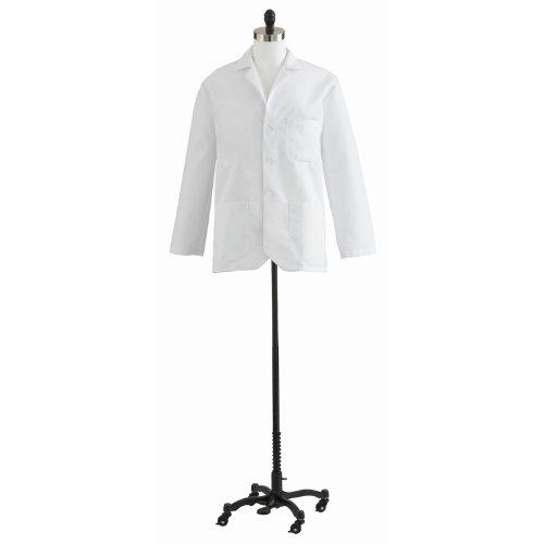 Medline MDT10WHT38E Men's Consultation Lab Coat, White