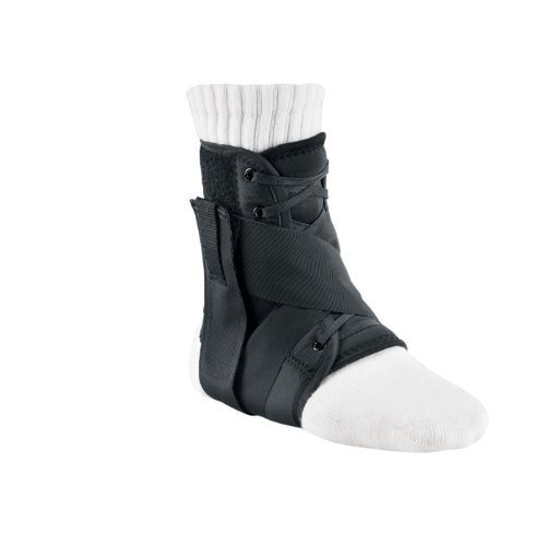 BREG '97063 Brace, Orthopedic, Medium Size 9.5-11 Male Size 8.5-10 Female Ballistic Nylon Ankle Lace-Up Bilateral Figure 8 Strapping