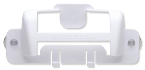eZpassClip New EZ Pass Holder for New, Small Toll Tag Transponder - Toll Holder Pass