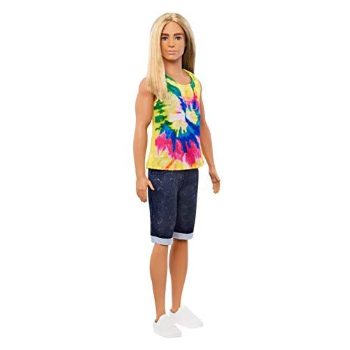 Ken Fashionistas Doll with Long...