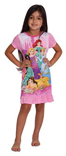 Disney Character Sleepwear Girls Girls' Princess Nightgown, 8