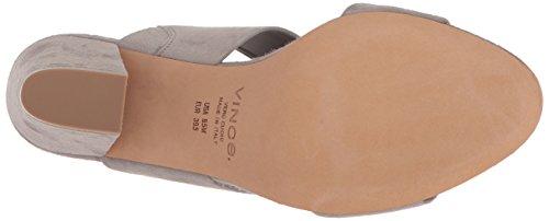 Vince Women's Benetta Heeled Sandal Light Woodsmoke free shipping low shipping fee top quality cheap sale wide range of PRzehPe