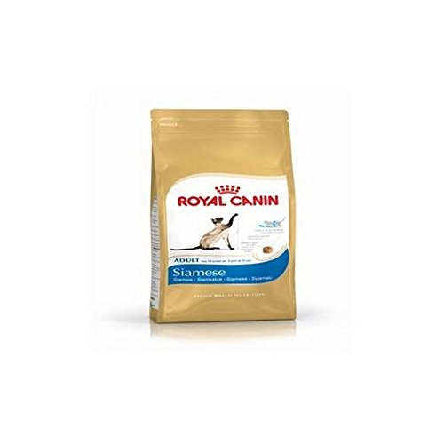 Royal Canin Adult Complete Cat Food for Siamese with Chicken (2kg) (Pack of 4) by Royal Canin