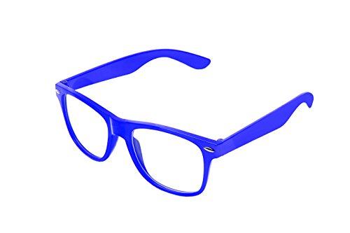 style Klar retro clear unisexe Dark au style paire Classique Boolavard Blue vintage nerd lunettes de de soleil lunettes OqxBTzAn