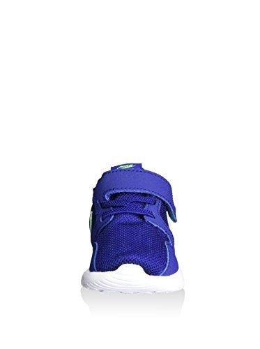 Nike Unisex Baby Kaishi (Tdv) Lauflernschuhe, Grau/Rosa/Weiß, 23.5 EU Blau (Deep Royal Blue / Green Strike)