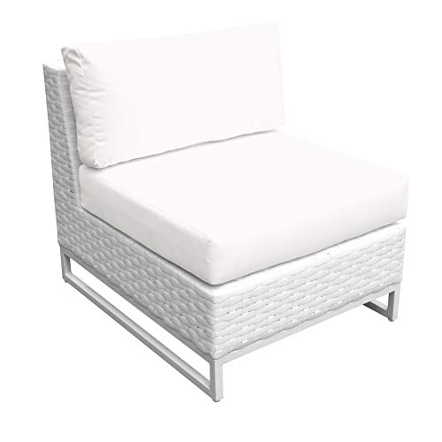 TK Classics TKC047b-AS-DB Miami Seating Outdoor Furniture, Sail White (Cheap Furniture Miami)