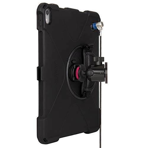 The Joy Factory MagConnect On-Wall Mount with aXtion Bold MPS Water-Resistant Rugged Security Cable Lock Case for iPad Pro 12.9'' [3rd Gen] Built-In Screen Protector, Hand Strap, Kickstand (MWA4115MPS) by The Joy Factory (Image #4)