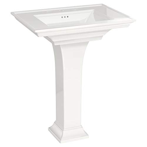 American Standard 0297800.020 Town Square S Pedestal Sink- 8