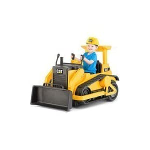 Kid-Trax-CAT-Bulldozer-12-Volt-Battery-Powered-Ride-On