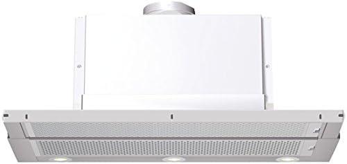 Bosch DHI945F Telescópica o extraplana Blanco 500m³/h - Campana (500 m³/h, Canalizado/Recirculación, Telescópica o extraplana, Blanco, 20 W, 3 bombilla(s)): Amazon.es: Hogar