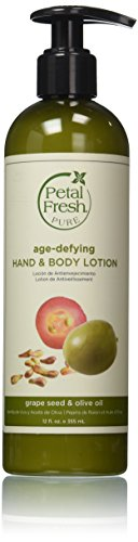 Petal Fresh Hand and Body Lotion, Grapeseed/Olive Oil, 12 Fluid Ounce