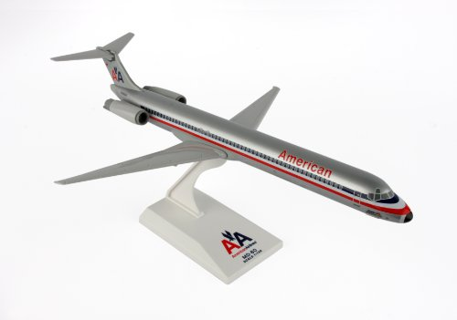 Daron Skymarks American Airlines MD-80 Old Livery Airplane Model Building Kit 1/150-Scale