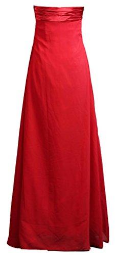 Simple Robe De Demoiselle D'honneur Empire De Fourmis Femmes Robe De Bal Longue