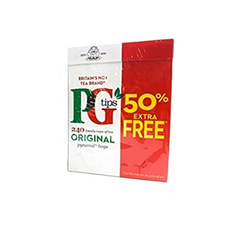 Pg Tips Tea Bags, 240 Count, Pack of 2