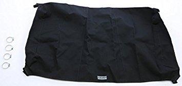 Speed Canvas Soft Roof Top Bimini for Kawasaki Teryx 750 08-14 Black / Black