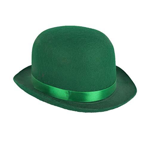 BESTOYARD Sombrero del día de San Patricio Sombrero del festival irlandés Sombrero simple y divertido Cap para el festival...