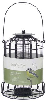 Rosewood Bird Nut Feeder Feeding Time Deluxe Large For Sale