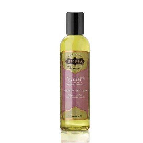 Kama Sutra Massage Oil - Pleasure Garden, 8oz ( Set of 3 )