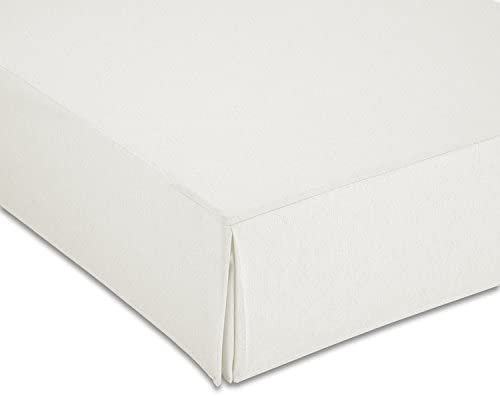 Cardenal Textil Liso Cubre Canape, Blanco, Cama 135