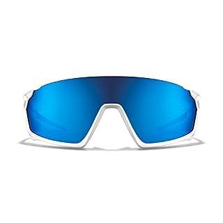 ROKA GP-1 Advanced Sports Performance Ultra Light Weight Sunglasses - White Frame - Glacier Mirror