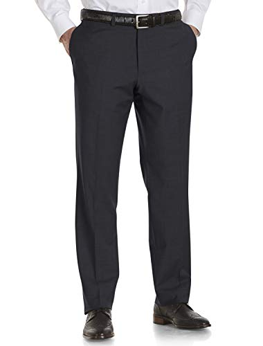 Jack Victor Big and Tall by Riviera Traveler Flat-Front Pants ()