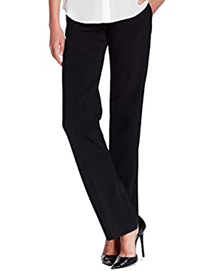 Theory Charcoal Womens Pleated Front-Tab Dress Pants Black 4