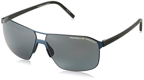 Porsche Design Metal Aviator Sunglasses P8645 C