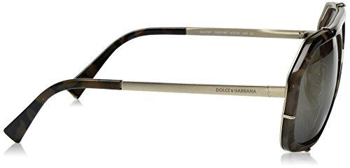 Dolce & Gabbana Sonnenbrille (DG2167) Camo Green