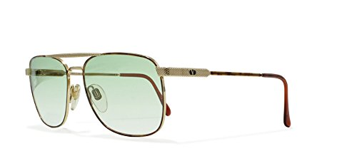 Valentino V249 962 Gold Vintage Sunglasses Aviator For - Valentino Aviators