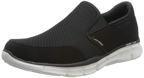 - Skechers Men's Equalizer Persistent Slip-On Sneaker, Black/White, 12 M US