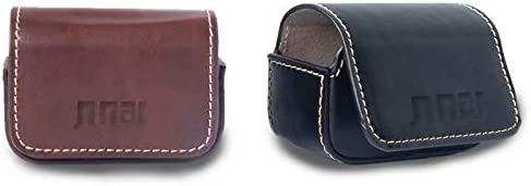 Color : Black Waterproof Mini Leather Case Storage Carrying Box for DJI New Action//GoPro//SJCAM//Xiaomi Mi Jia Durable