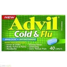 Advil Cold and Flu Caplet