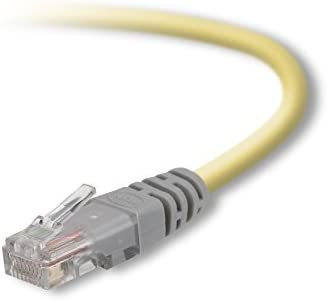 Belkin Cat5e 10//100 Base-T Patch Cable Crimped 10ft
