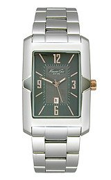 Kenneth Cole New York Three-Hand Stainless Steel Men's watch #KC9295