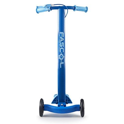 FASCOL-2-aos-de-Garanta-Vespa-Plegable-Kick-Scooter-ltimo-Diseo-para-los-Nios-de-6-15-Aos-de-Edad-Carga-Mxima-30-kg-de-piel-para-Nios-de-Color-en-Oro-Rosa