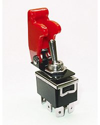 Toggle Switch Cover >> Amazon Com Dpdt Toggle Switch Rated 20 Amps 125 Vac Includes
