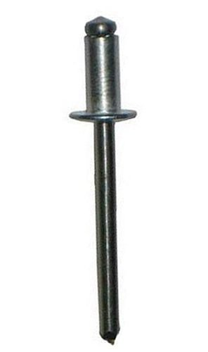 AD42ABS ALUMINUM BLIND RIVET WITH ALUMINUM MANDREL, DOME HEAD, 1/8 x .063-.125 GRIP (Pack of 500) by Hanson Rivet (Image #1)