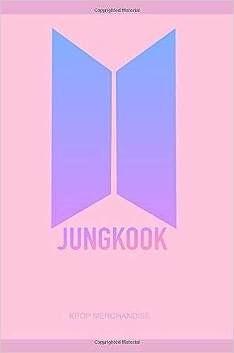Jeon Jungkook BTS Love Yourself Logo Notebook Journal Diary