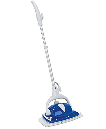 Monster EZ1-XL Pro Floor Steamer – Cleans, Mops & Disinfects by Emitting Bottom & Frontal Dry Steam – NEWEST MODEL – Includes Carpet Glide & 2 Extra-Large Microfiber Pads