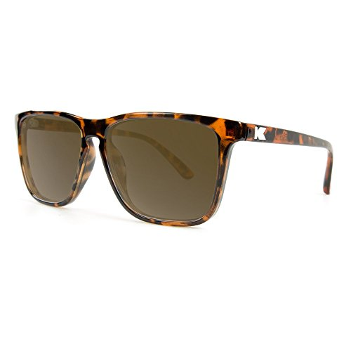 Knockaround Fast Lanes Non-Polarized Sunglasses, Glossy Tortoise Shell / - Sunglasses Knockaround
