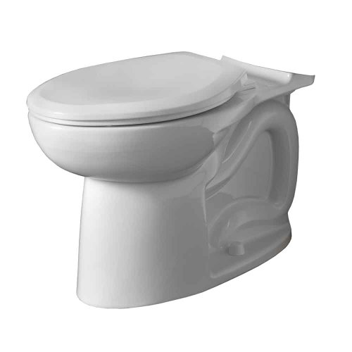 American Standard 3717A001.020 Cadet 3 FloWise Right Height Elongated Toilet Bowl Only in White - White Cadet 3 Compact