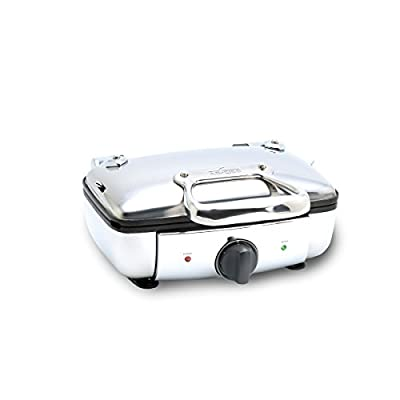 All-Clad 99011GT Stainless Steel Belgian Waffle Maker with 7 Browning Settings