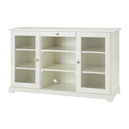 Amazoncom Ikea Sideboard With Glass Doors White 20262026263426