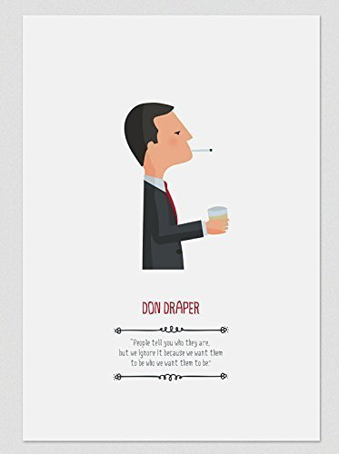 Amazon Print Don Draper Available In Two Sizes A4 A3