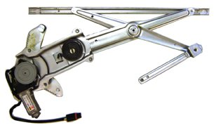 Jeep Wagoneer Window Regulator - TYC 660140 Jeep Grand Cherokee Front Driver Side Replacement Power Window Regulator Assembly with Motor