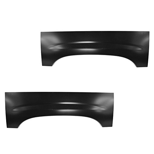 Wheel Arch Repair Panel Upper Rear Pair Set of 2 for Chevy Silverado GMC -