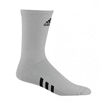 Adidas Single Crew-Basic Calcetines Deportivos, Hombre, Gris (Gris Cd7067),