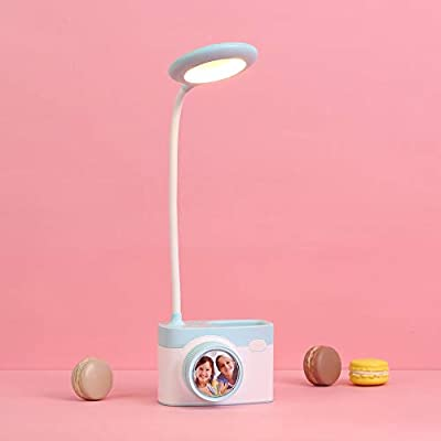 Lixada Lámpara de Mesa LED Luz Nocturna Modelado Cámara Cuidado de ...